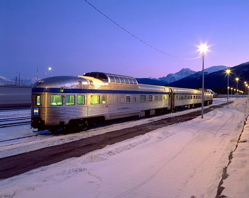 Eisenbahnen Kanada - Wie der Tourismus nach Kanada kam - out-of-canada.olehelmhausen.de - 2