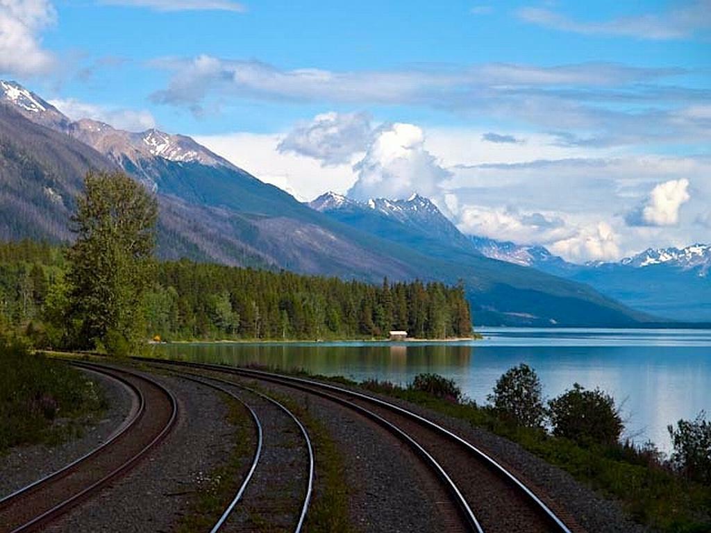 Eisenbahnen Kanada - Wie der Tourismus nach Kanada kam - out-of-canada.olehelmhausen.de - 4