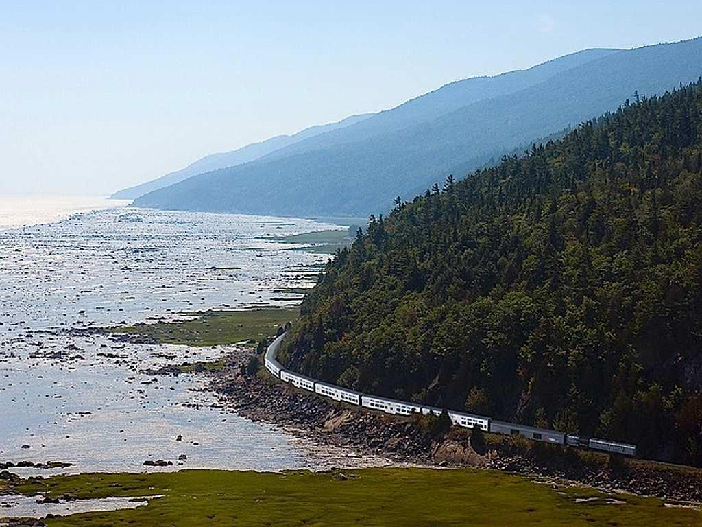 Eisenbahnen Kanada - Wie der Tourismus nach Kanada kam - out-of-canada.olehelmhausen.de - 7