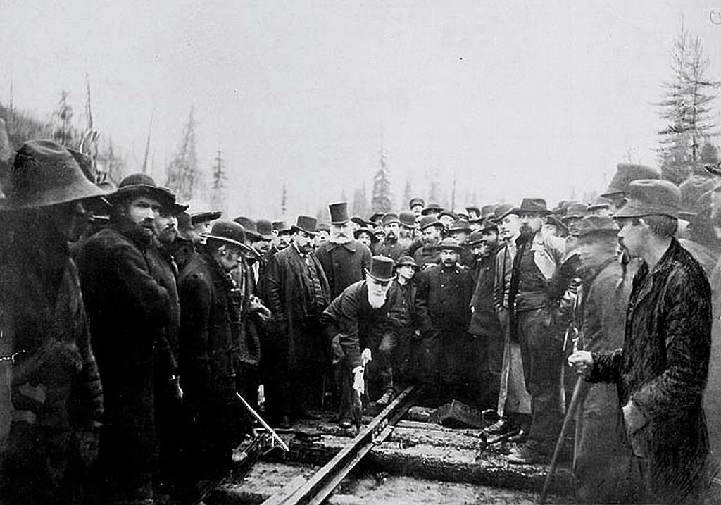 Eisenbahnen Kanada - Wie der Tourismus nach Kanada kam - out-of-canada.olehelmhausen.de - 1