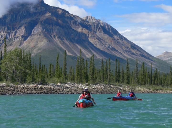 Erstklassiges Leiden (NWT): Auf dem Keele River durch die Northwest Territories - 1