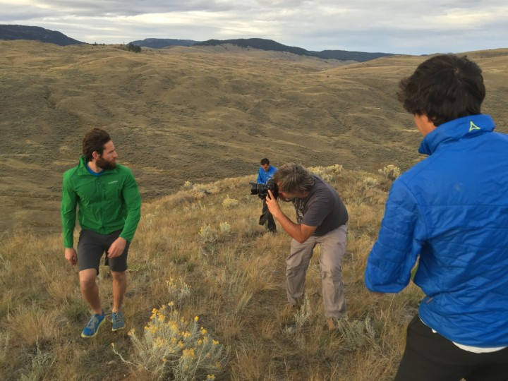 Michael schickte Clayton erbarmungslos den Hügel rauf und runter, bis er die gewünschten Bilder hatte.