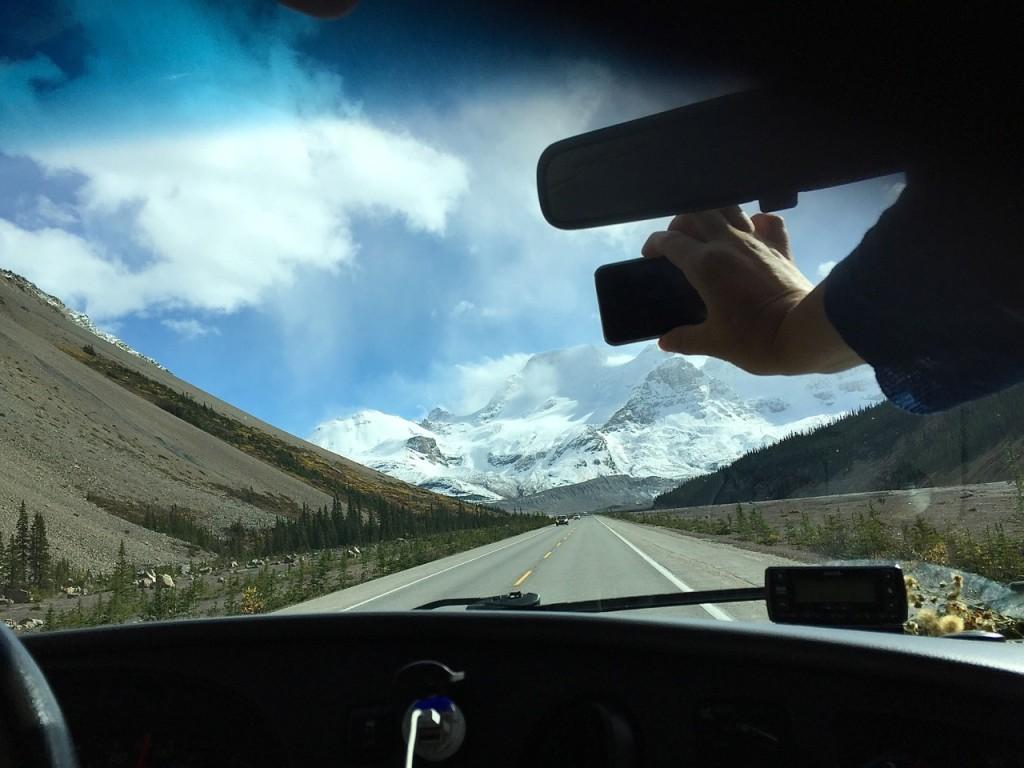 Icefields Parkway, wir kommen!