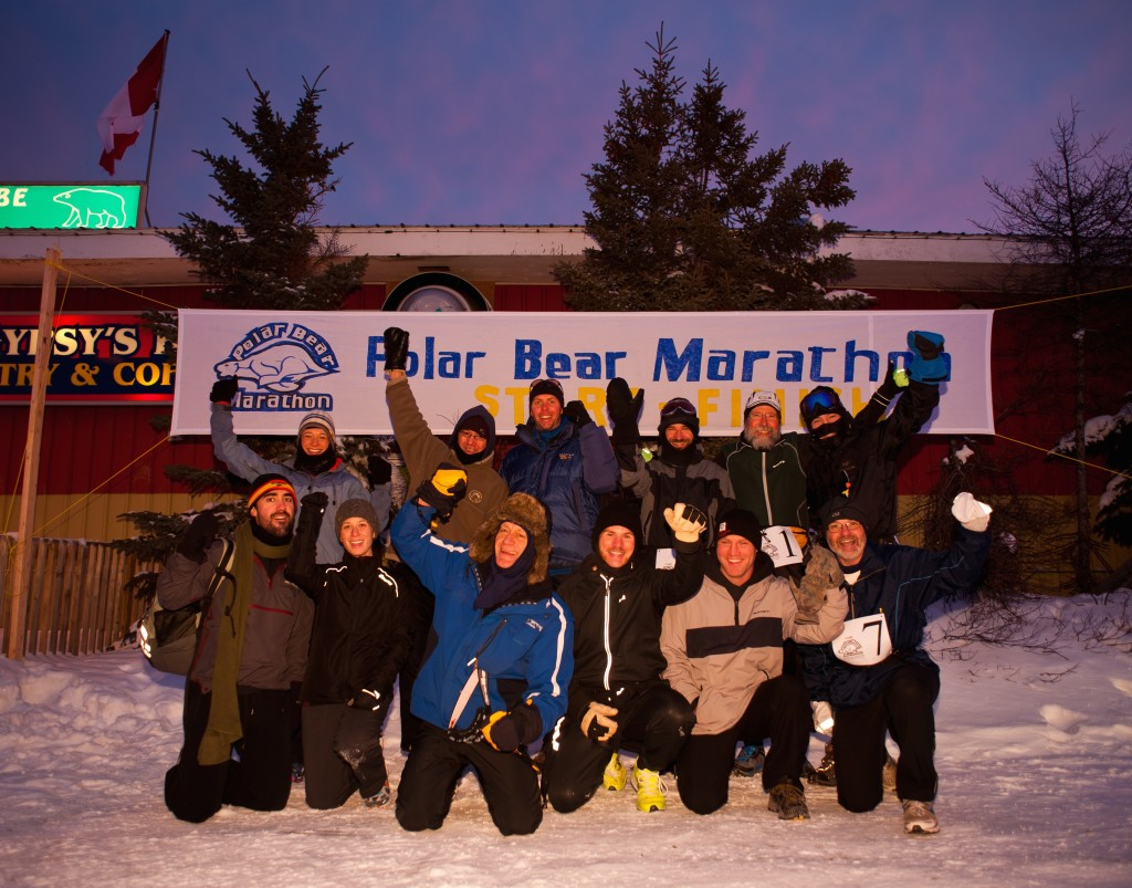 Start Polar Bear Marathon